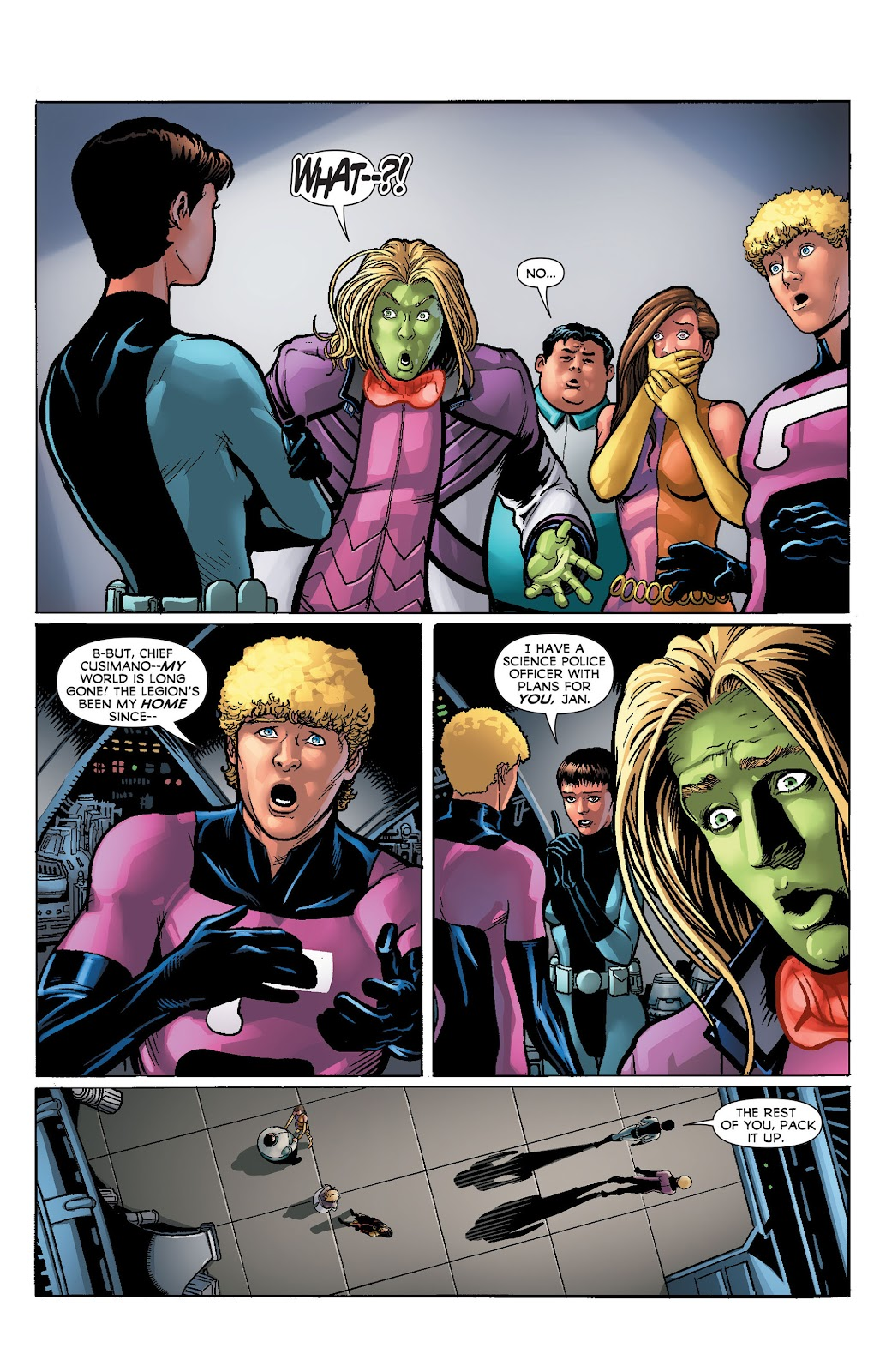 Legion of Super-Heroes (2011) Issue #23 #24 - English 13