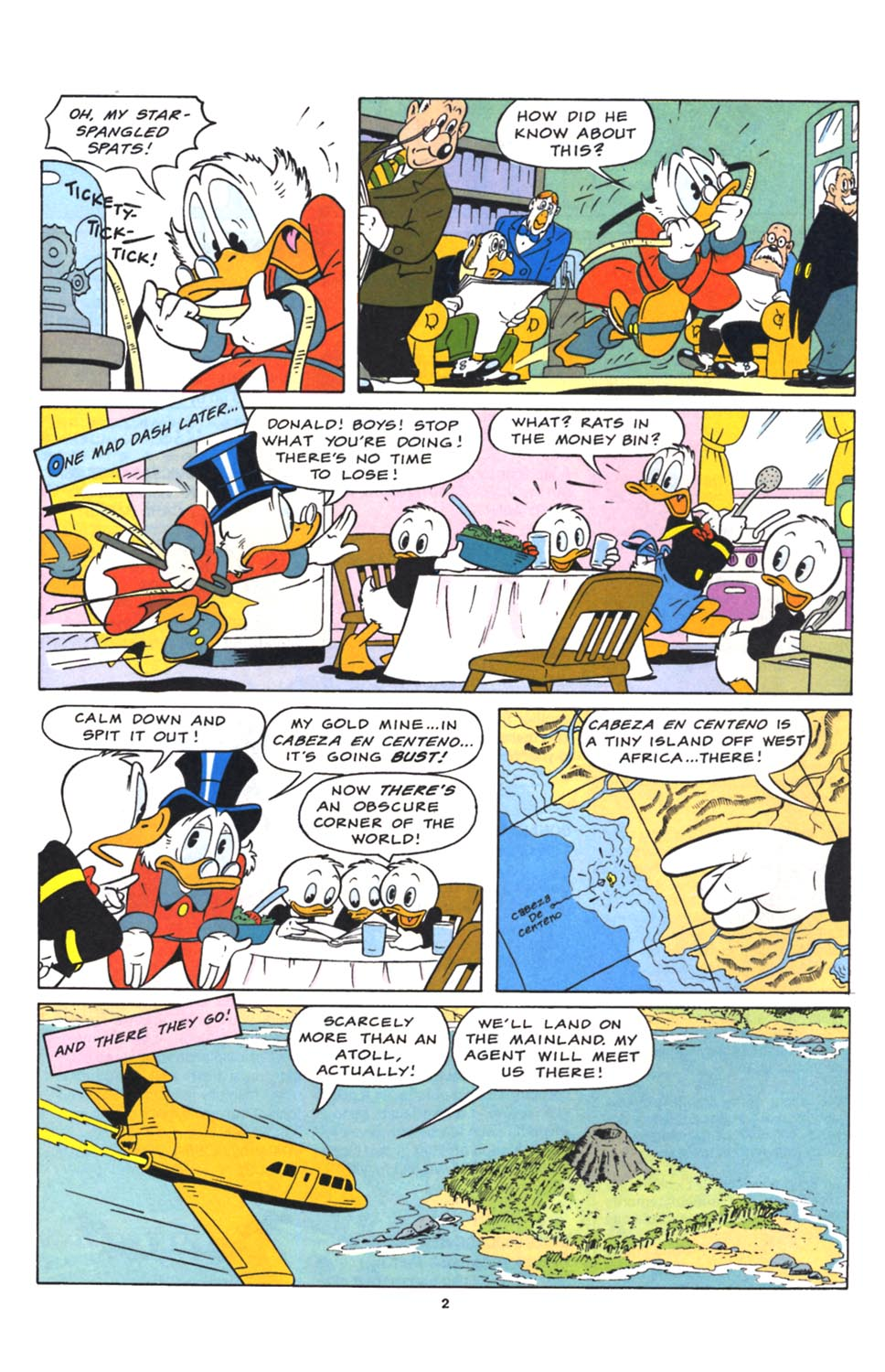 Uncle Scrooge (1953) Issue #262 #262 - English 17