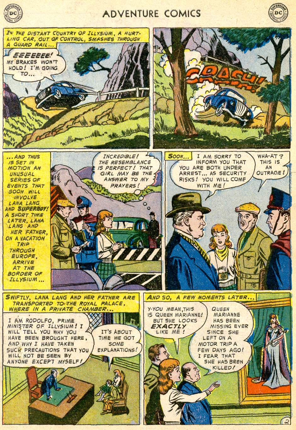 Read online Adventure Comics (1938) comic -  Issue #192 - 4