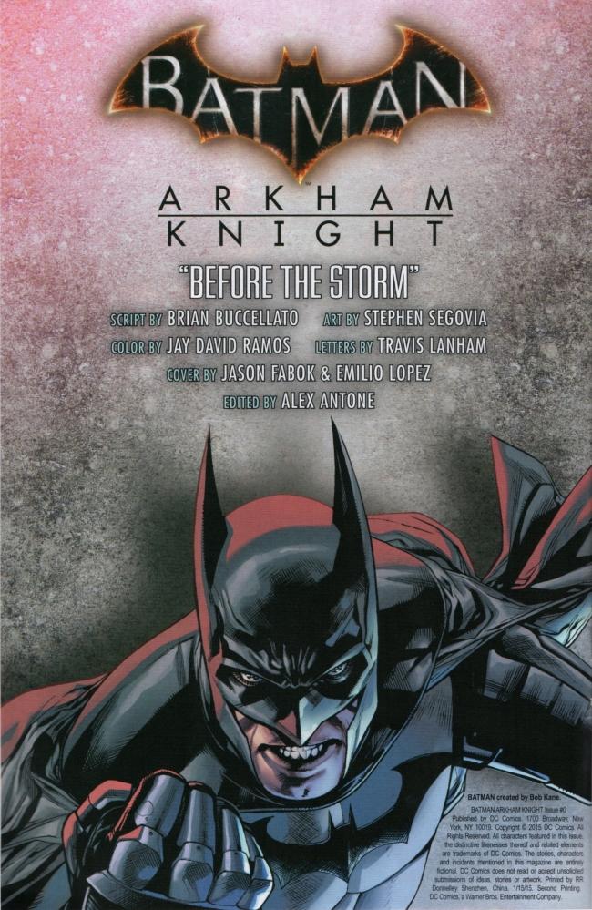 Batman: Arkham Knight [I] Issue #0 #2 - English 2
