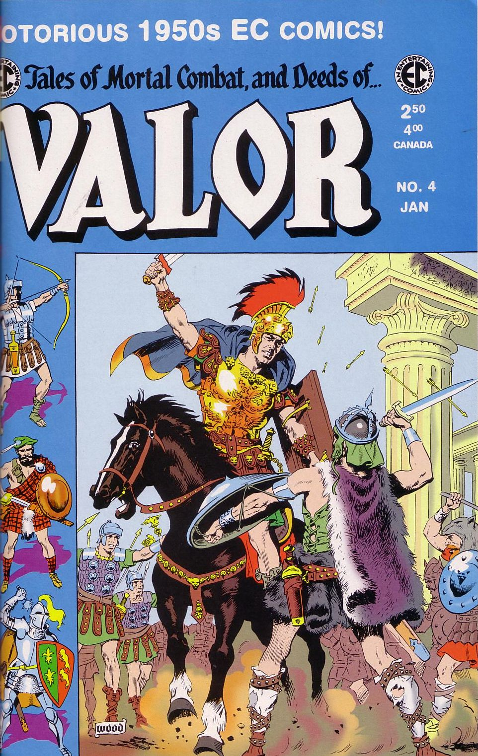 Valor (1955) 4 Page 1