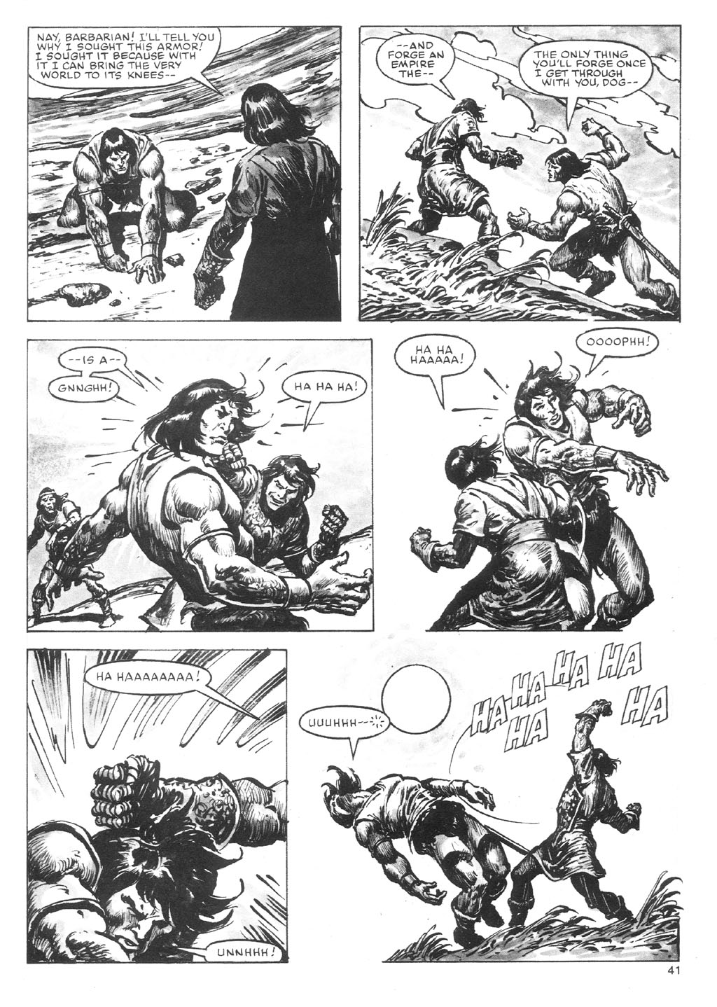 The Savage Sword Of Conan Issue #87 #88 - English 41