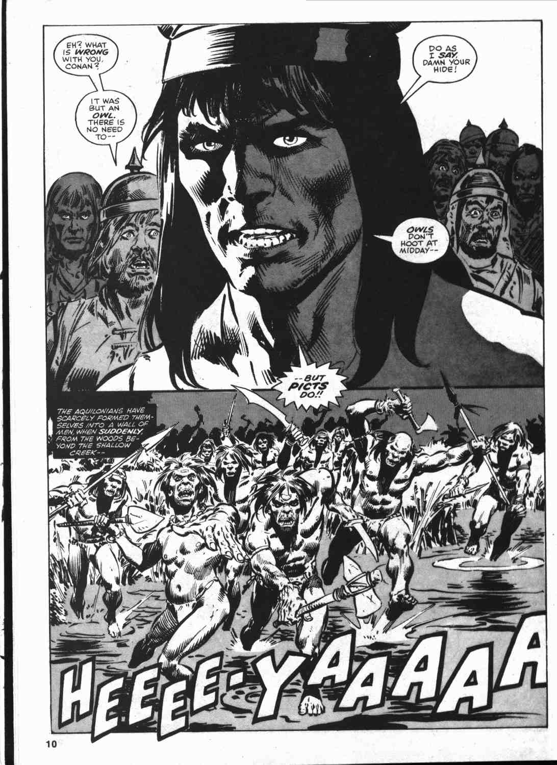 The Savage Sword Of Conan Issue #46 #47 - English 9
