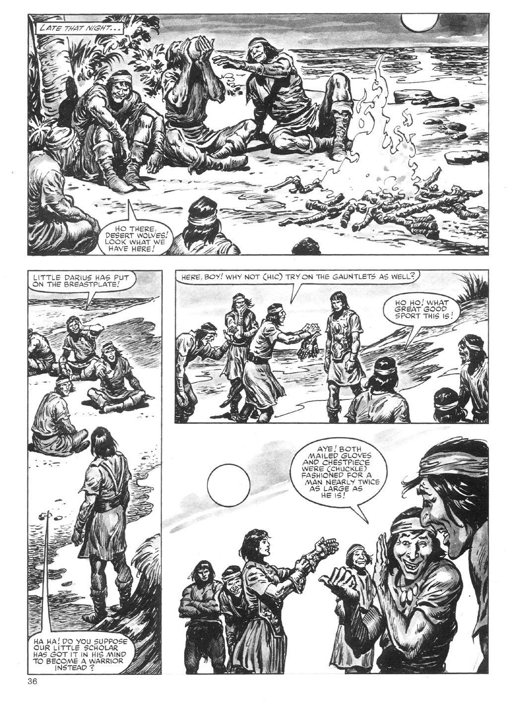 The Savage Sword Of Conan Issue #87 #88 - English 36
