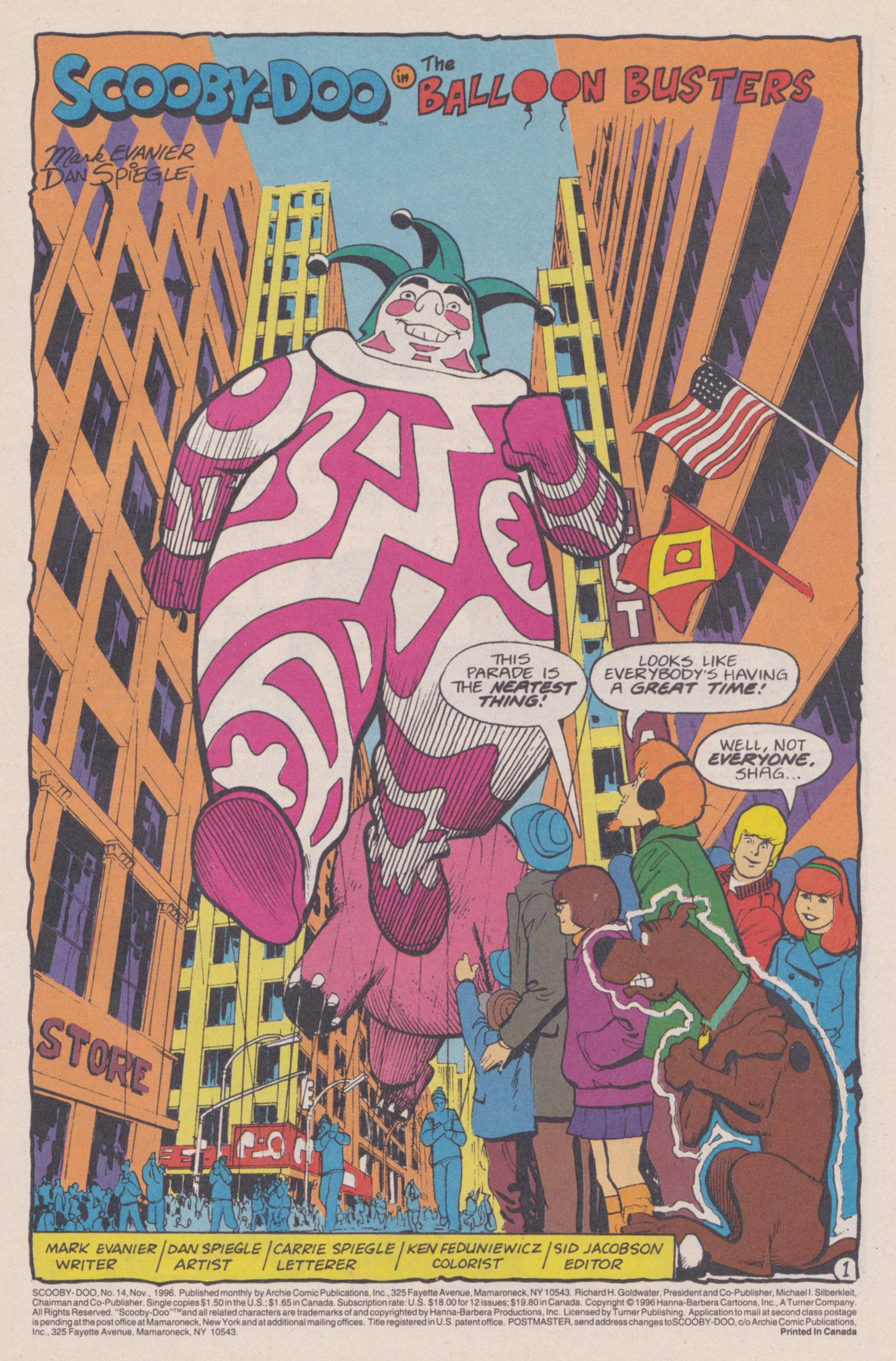 Read online Scooby-Doo (1995) comic -  Issue #14 - 2