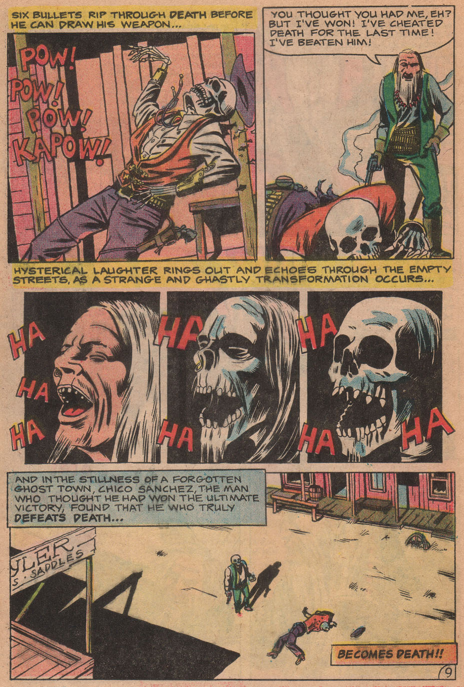 Read online Scary Tales comic -  Issue #17 - 32