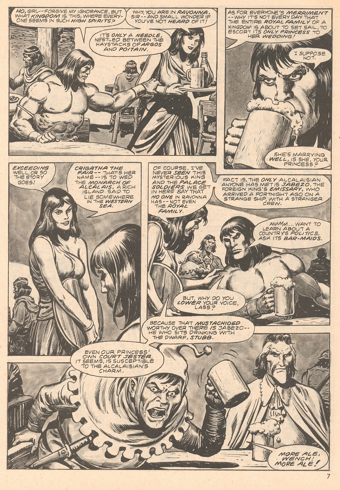 The Savage Sword Of Conan Issue #66 #67 - English 7