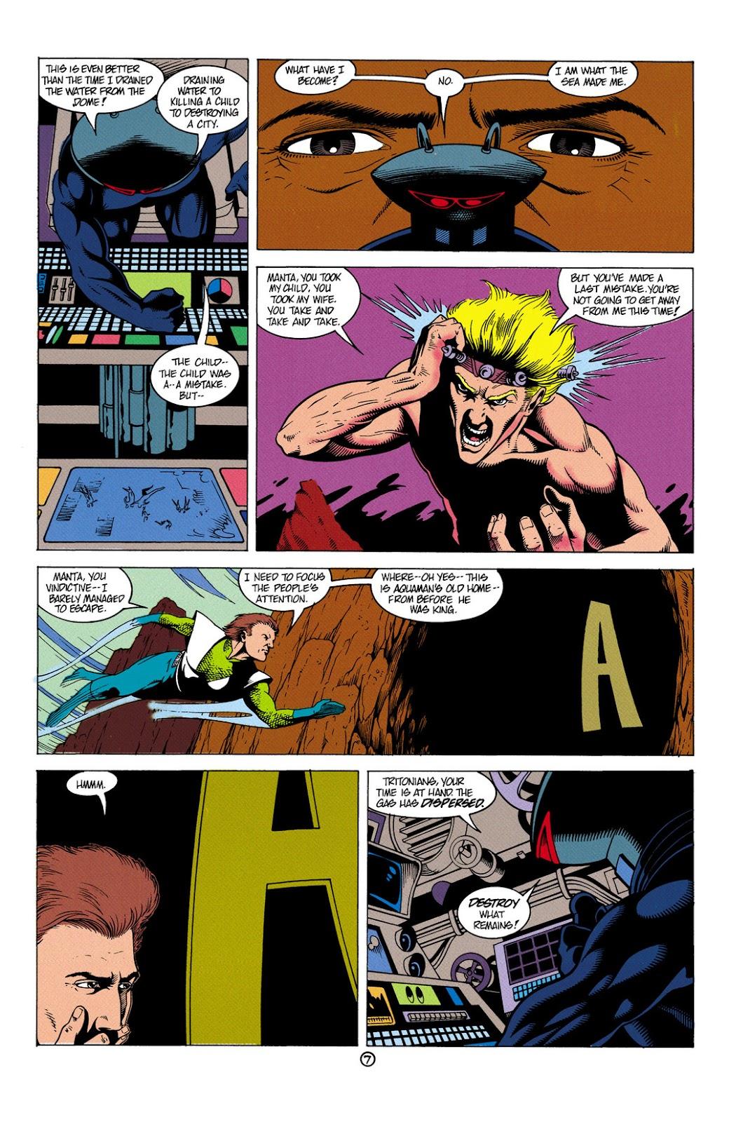 Aquaman (1991) Issue #6 #6 - English 8