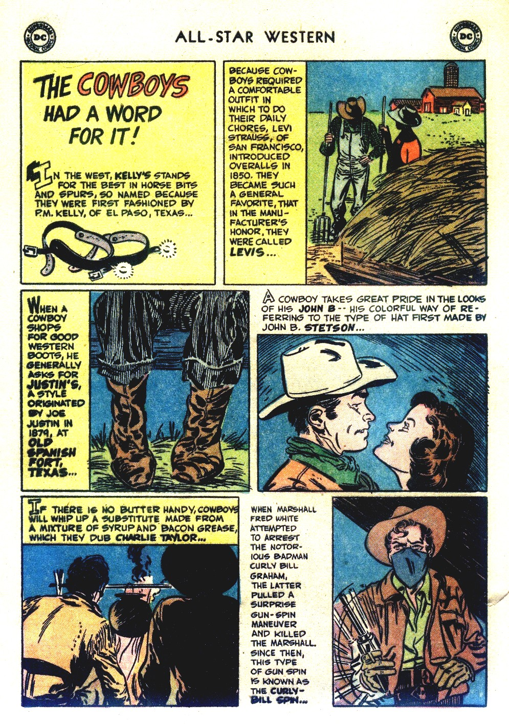Read online All-Star Western (1951) comic -  Issue #66 - 28