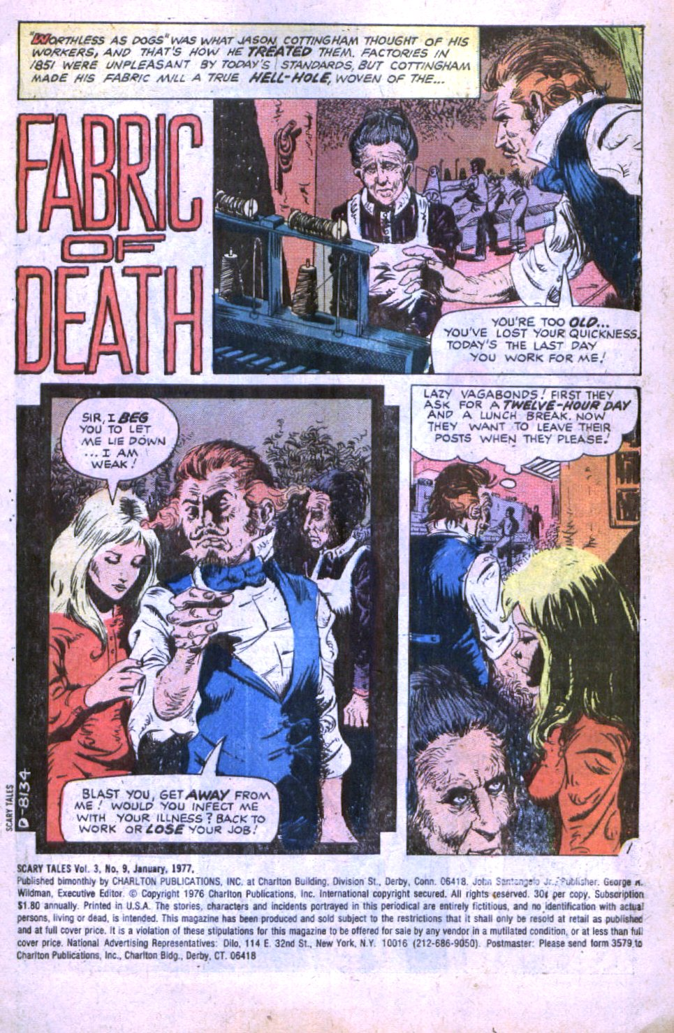 Read online Scary Tales comic -  Issue #9 - 3