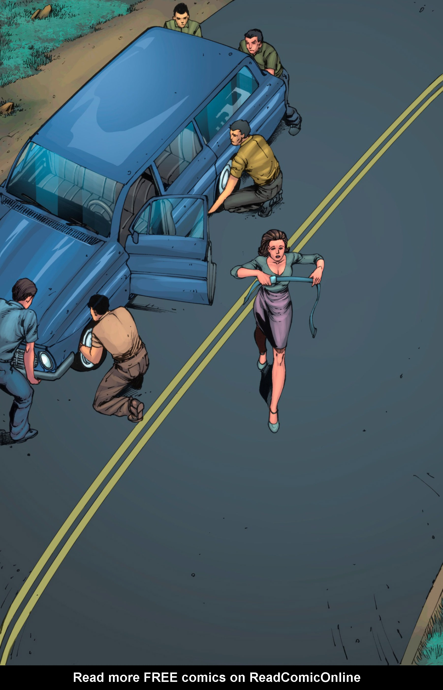 Read online Z-Men comic -  Issue #3 - 39