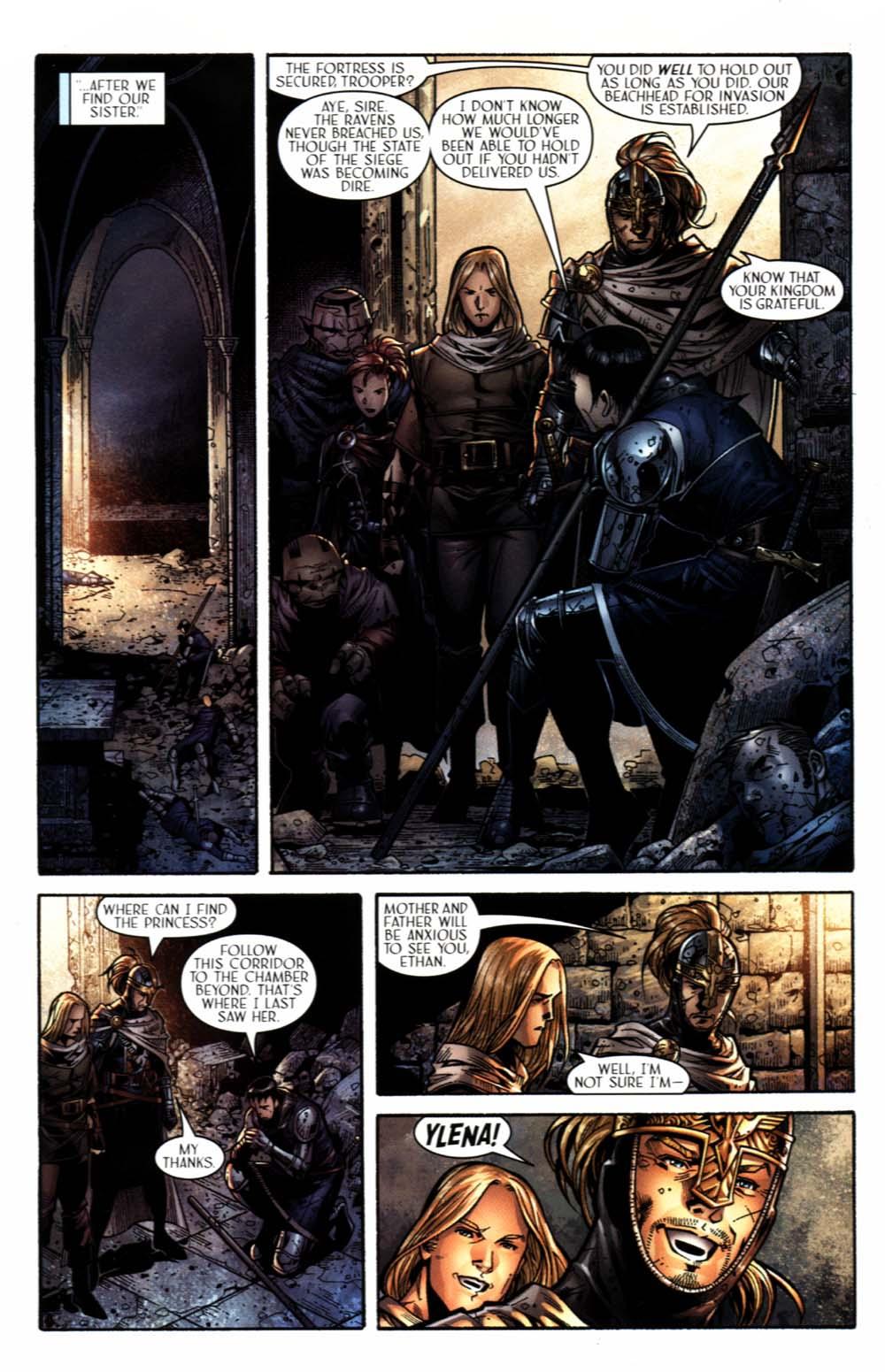 Read online Scion comic -  Issue #18 - 21