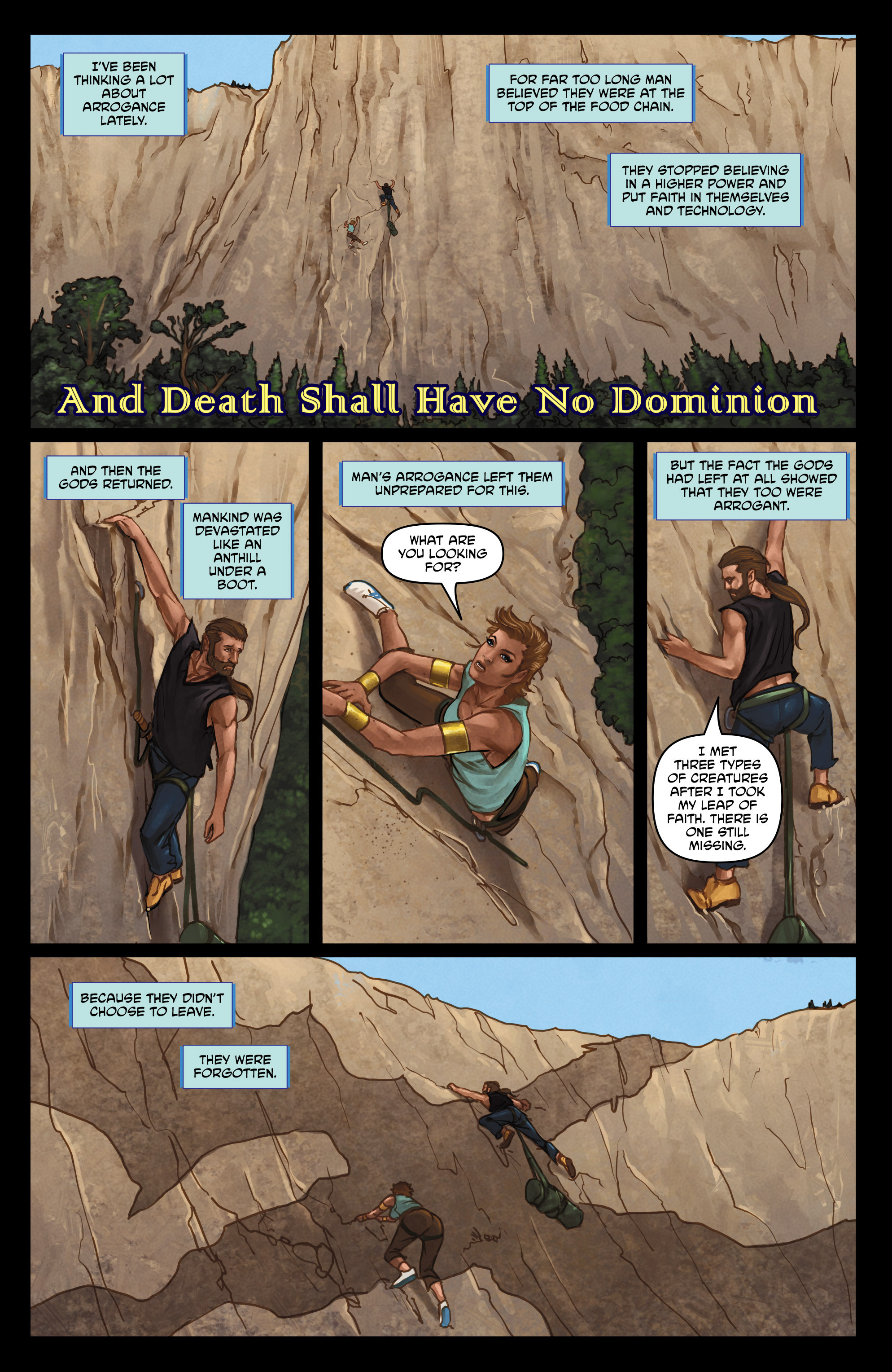 Read online God Is Dead comic -  Issue #47 - 18