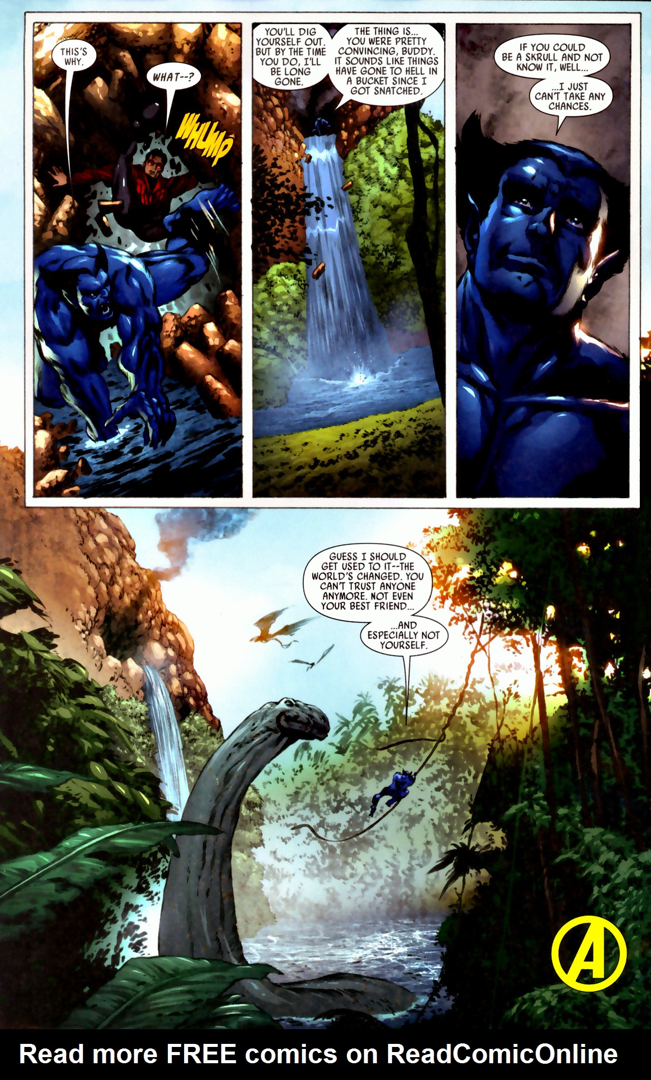 Read online Secret Invasion: Who Do You Trust? comic -  Issue # Full - 28