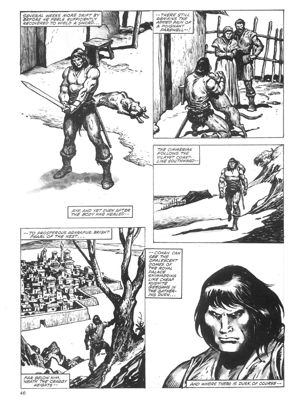 The Savage Sword Of Conan Issue #87 #88 - English 46