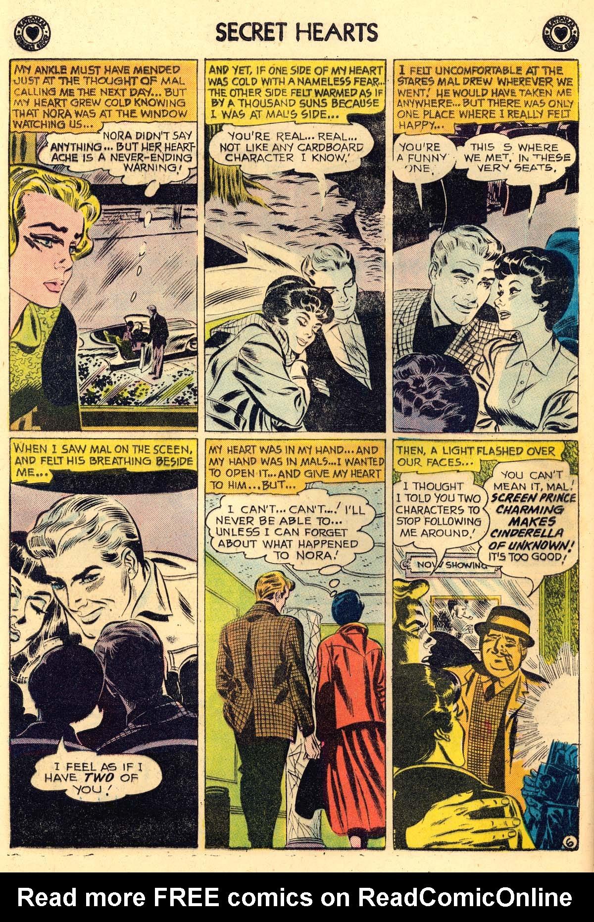 Read online Secret Hearts comic -  Issue #56 - 32