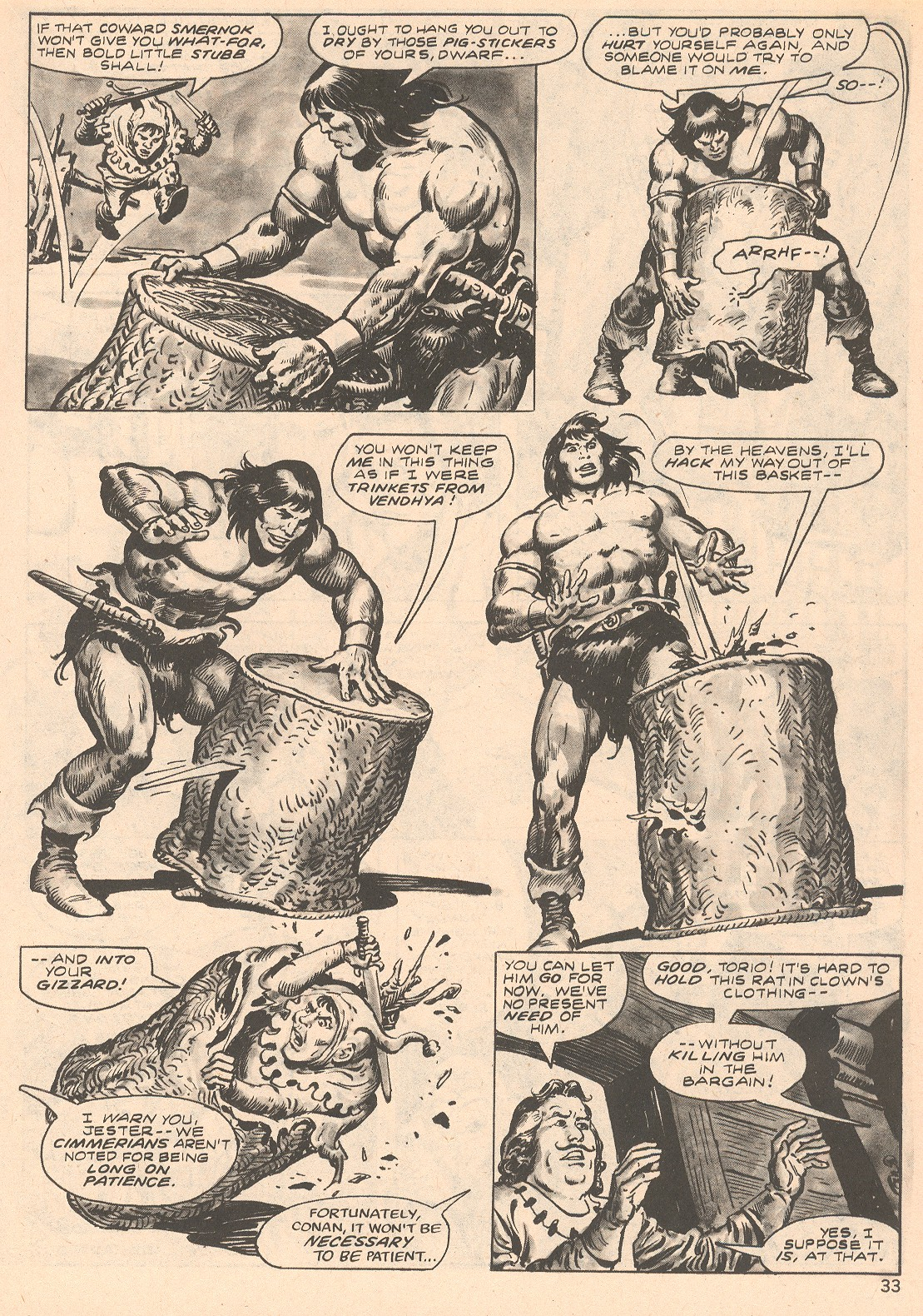 The Savage Sword Of Conan Issue #66 #67 - English 33