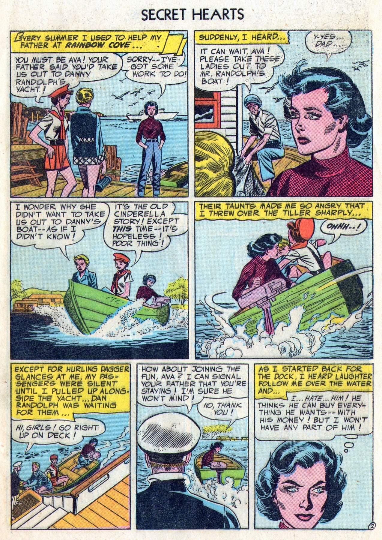 Read online Secret Hearts comic -  Issue #28 - 27