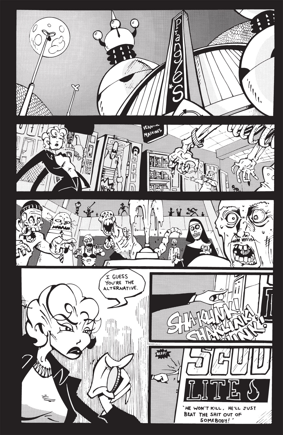 Read online Scud: The Disposable Assassin: The Whole Shebang comic -  Issue # TPB (Part 2) - 203