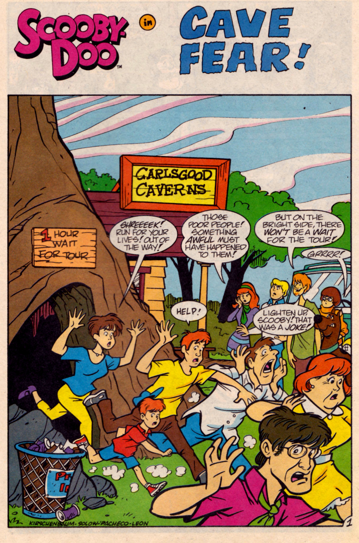 Read online Scooby-Doo (1995) comic -  Issue #18 - 18