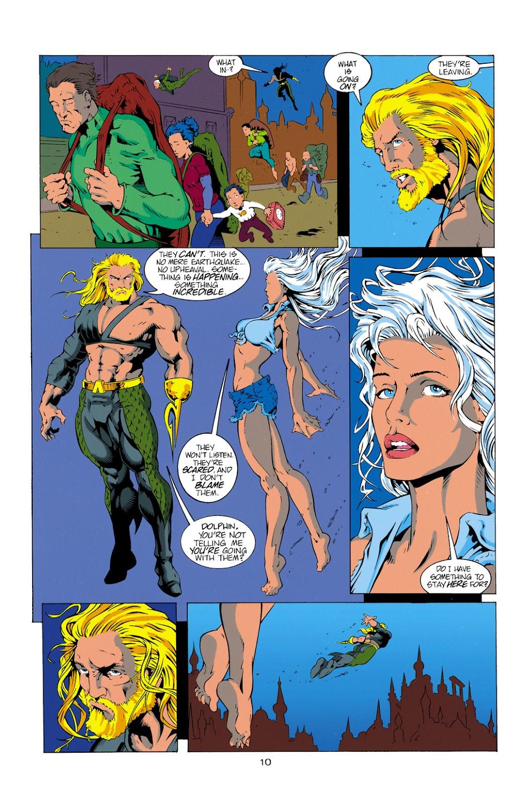 Aquaman (1994) Issue #11 #17 - English 10