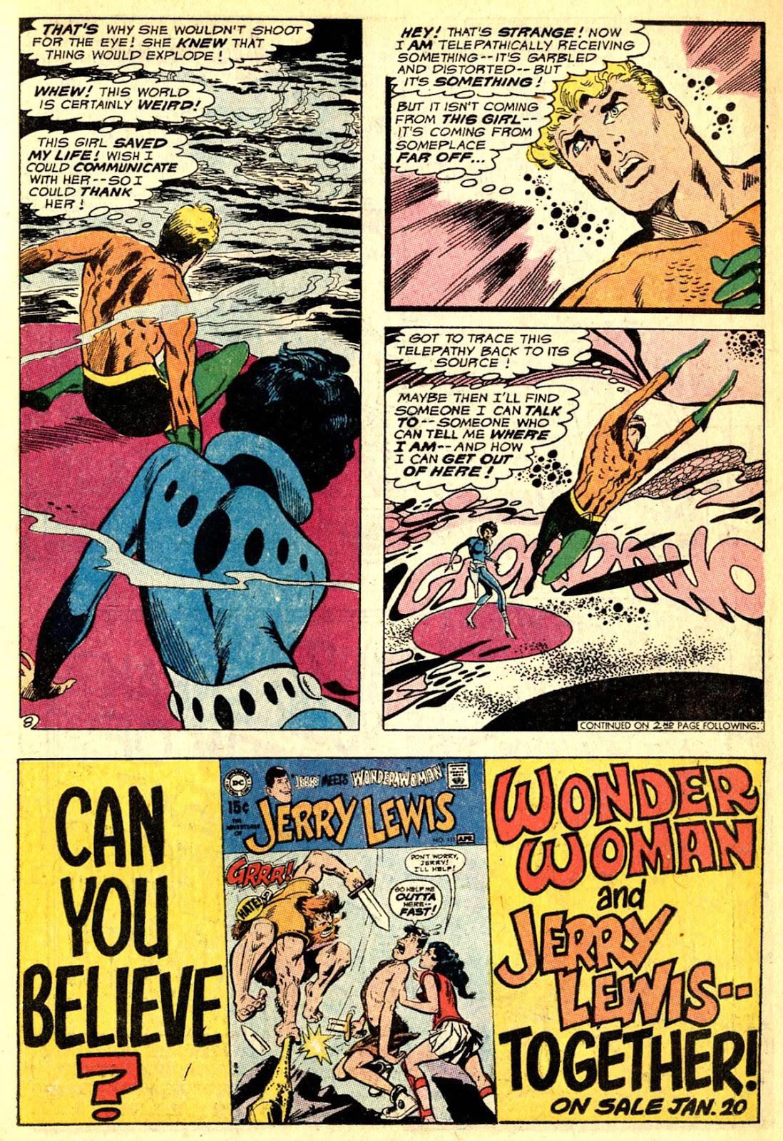 Aquaman (1962) Issue #50 #50 - English 11