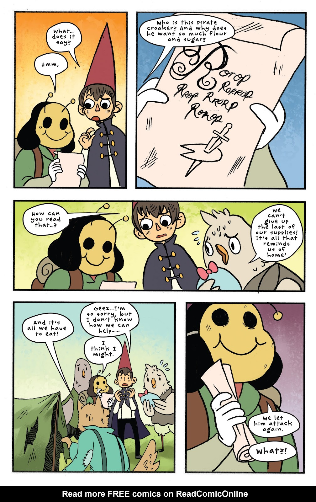 Over the Garden Wall (2016) Issue #11 #11 - English 16
