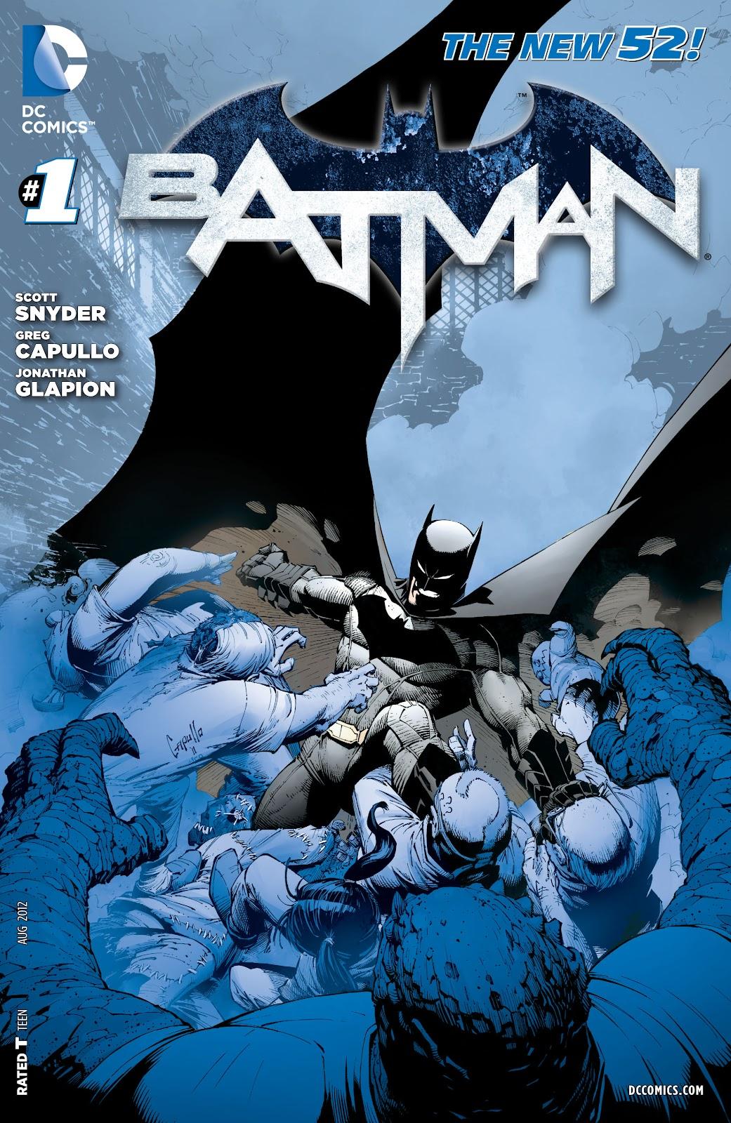 Batman (2011) Issue #1 #16 - English 29
