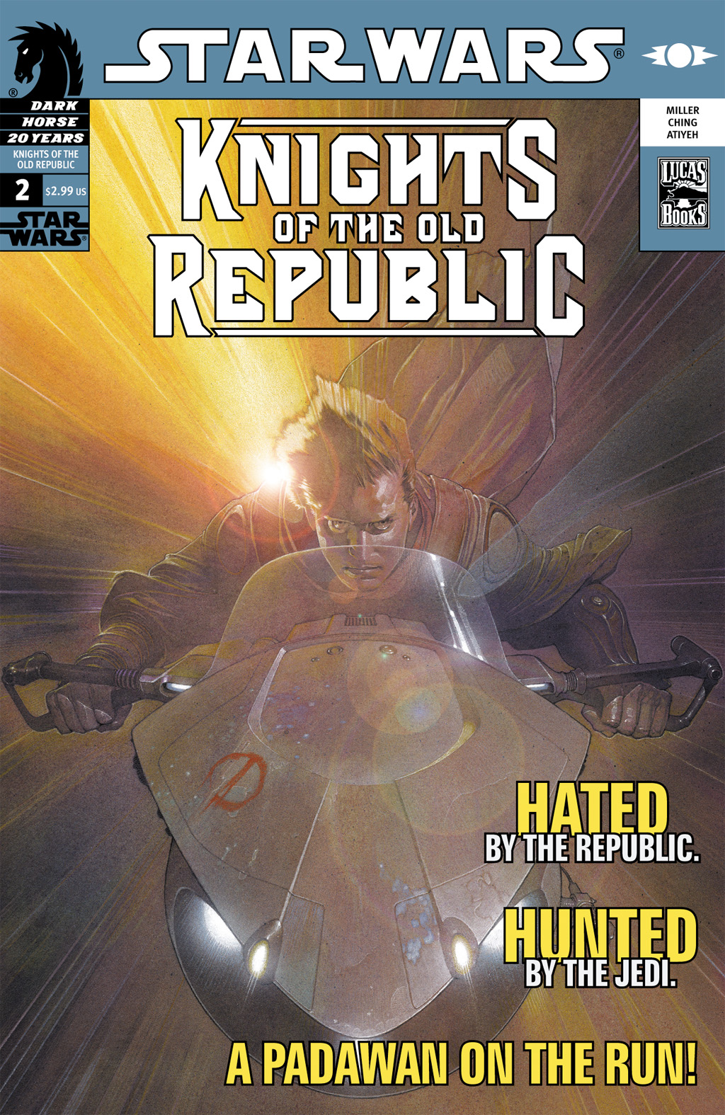 Star Wars: Knights Of The Old Republic issue 2 - Page 1