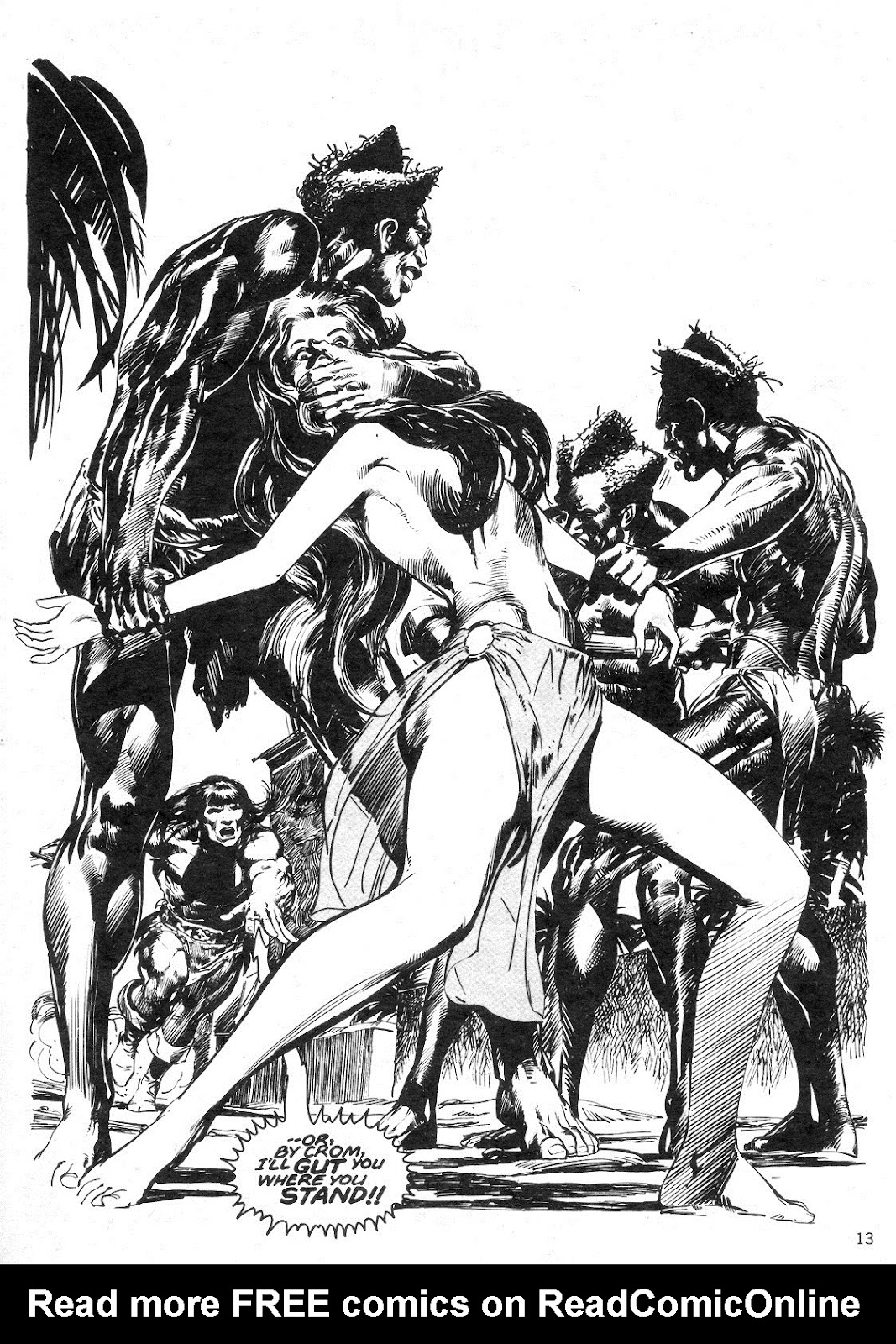 The Savage Sword Of Conan Issue #14 #15 - English 13