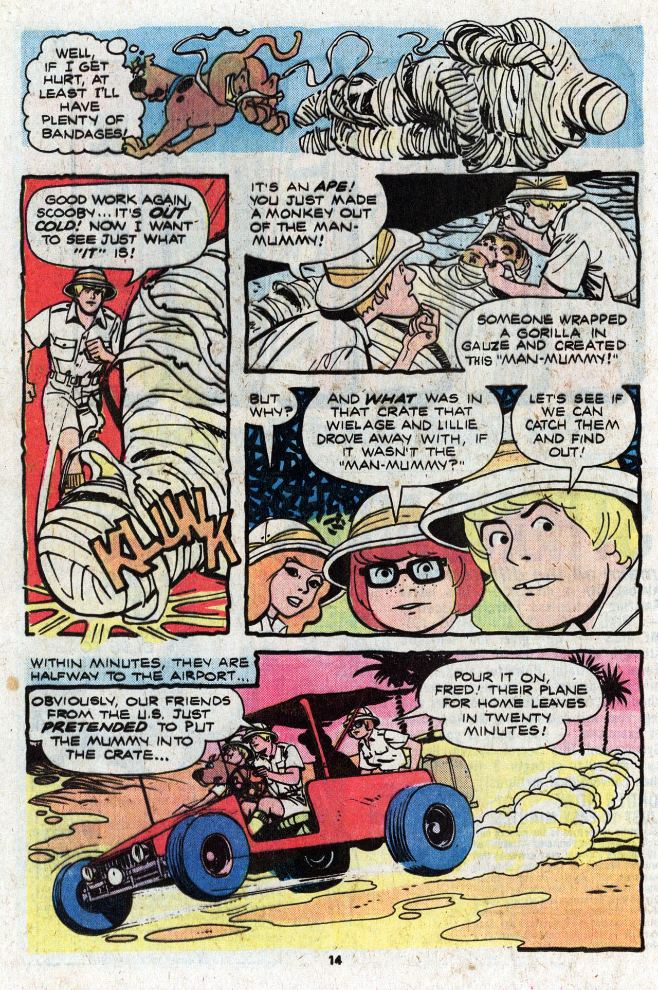 Read online Scooby-Doo (1977) comic -  Issue #4 - 16