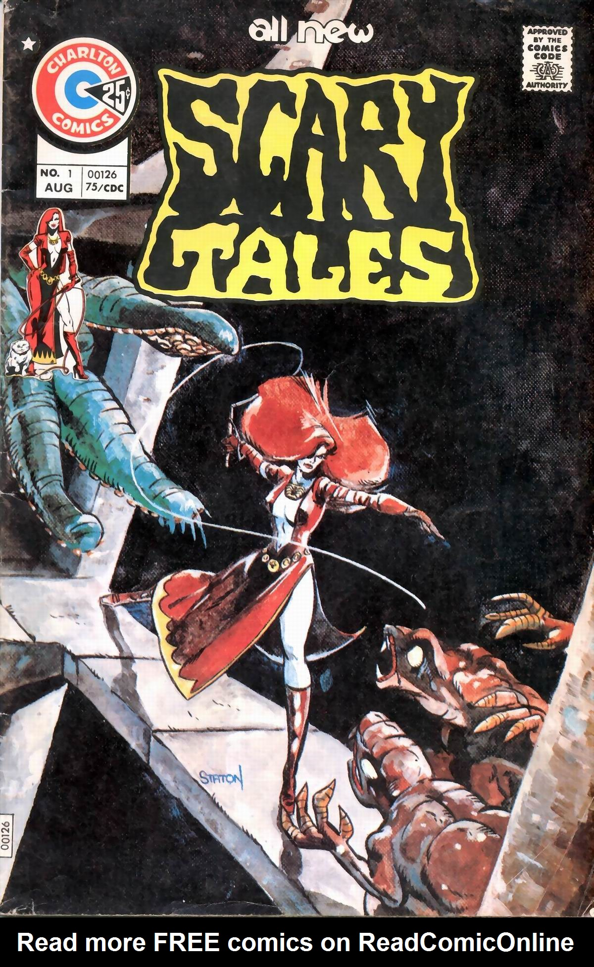 Read online Scary Tales comic -  Issue #1 - 1