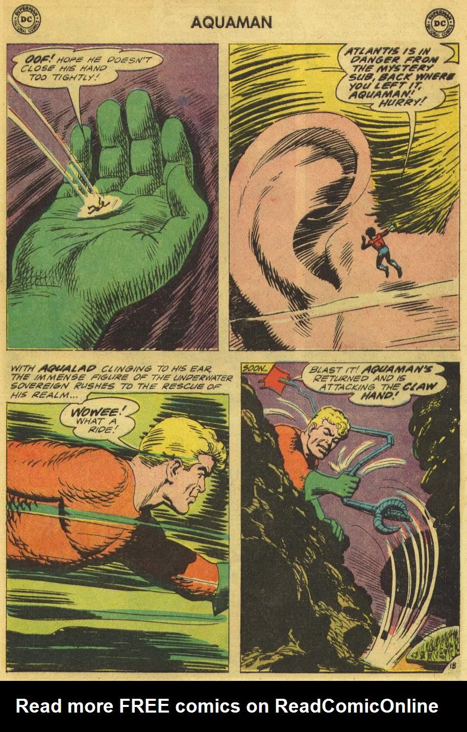 Aquaman (1962) Issue #21 #21 - English 25