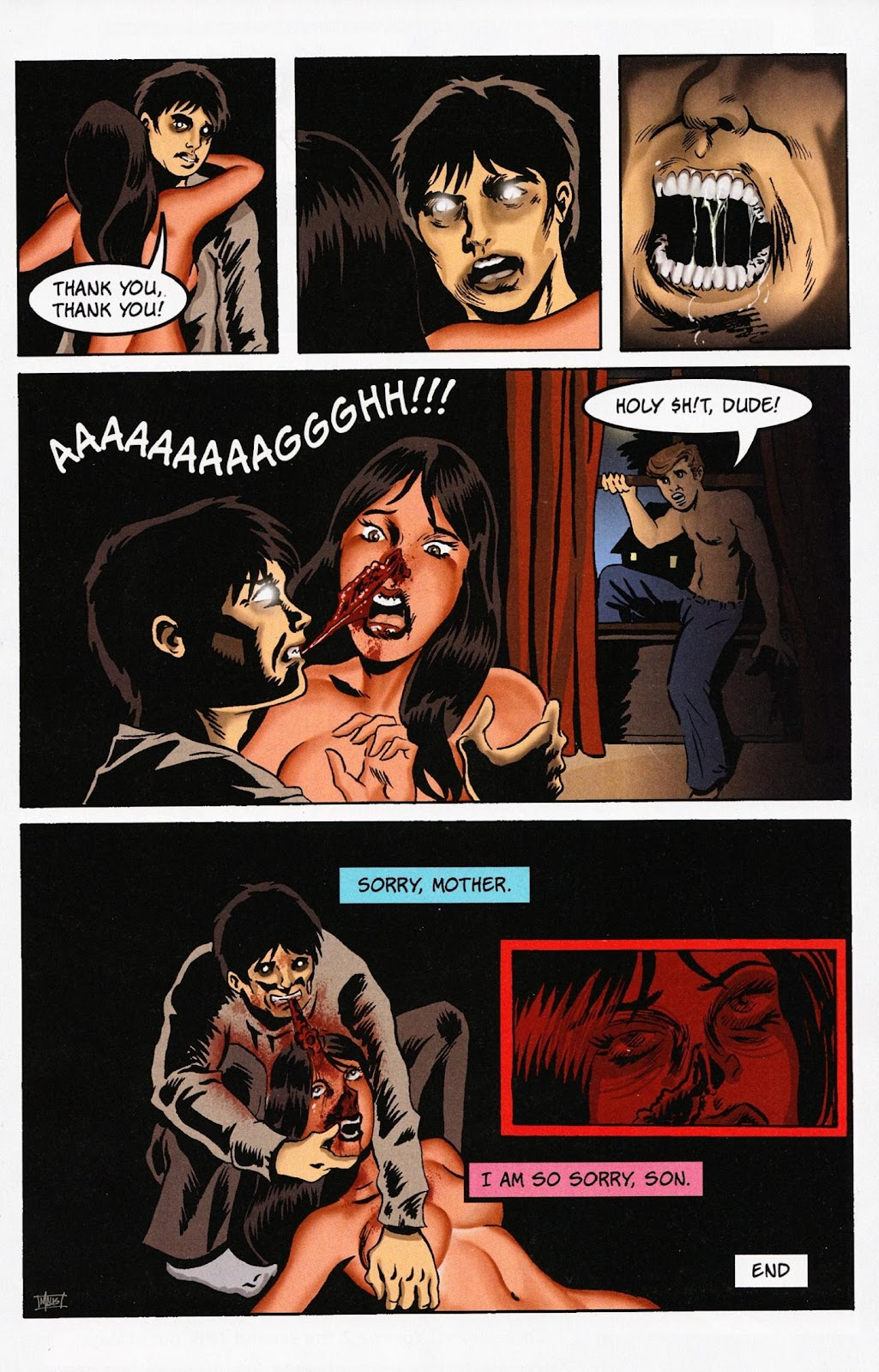 Zombies vs Cheerleaders Issue #1 Page 11