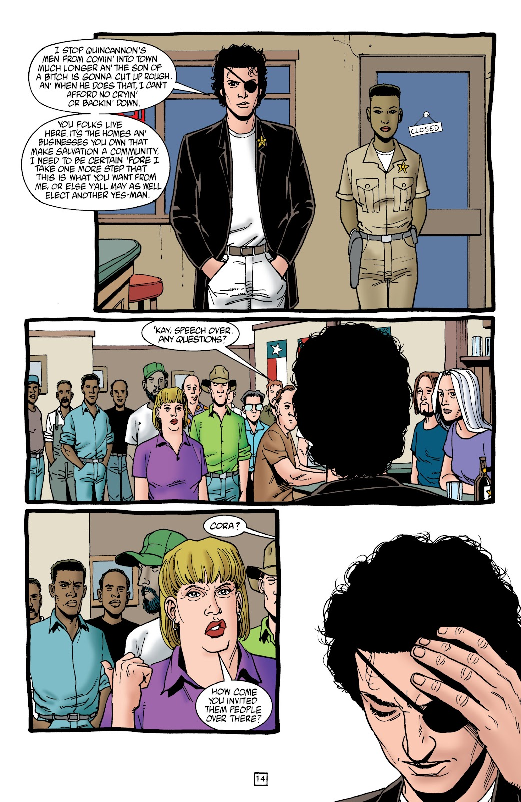 Preacher Issue #45 #54 - English 15