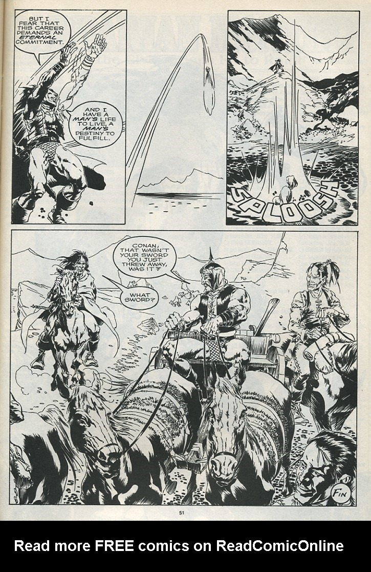The Savage Sword Of Conan Issue #175 #176 - English 53
