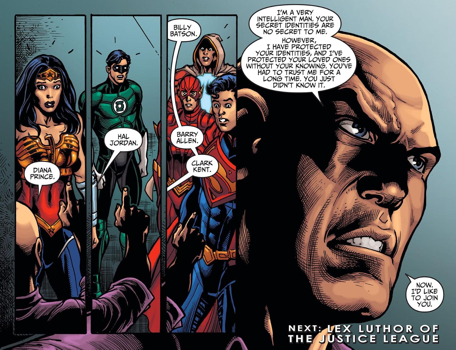 Injustice: Gods Among Us [I] Issue #20 #21 - English 22
