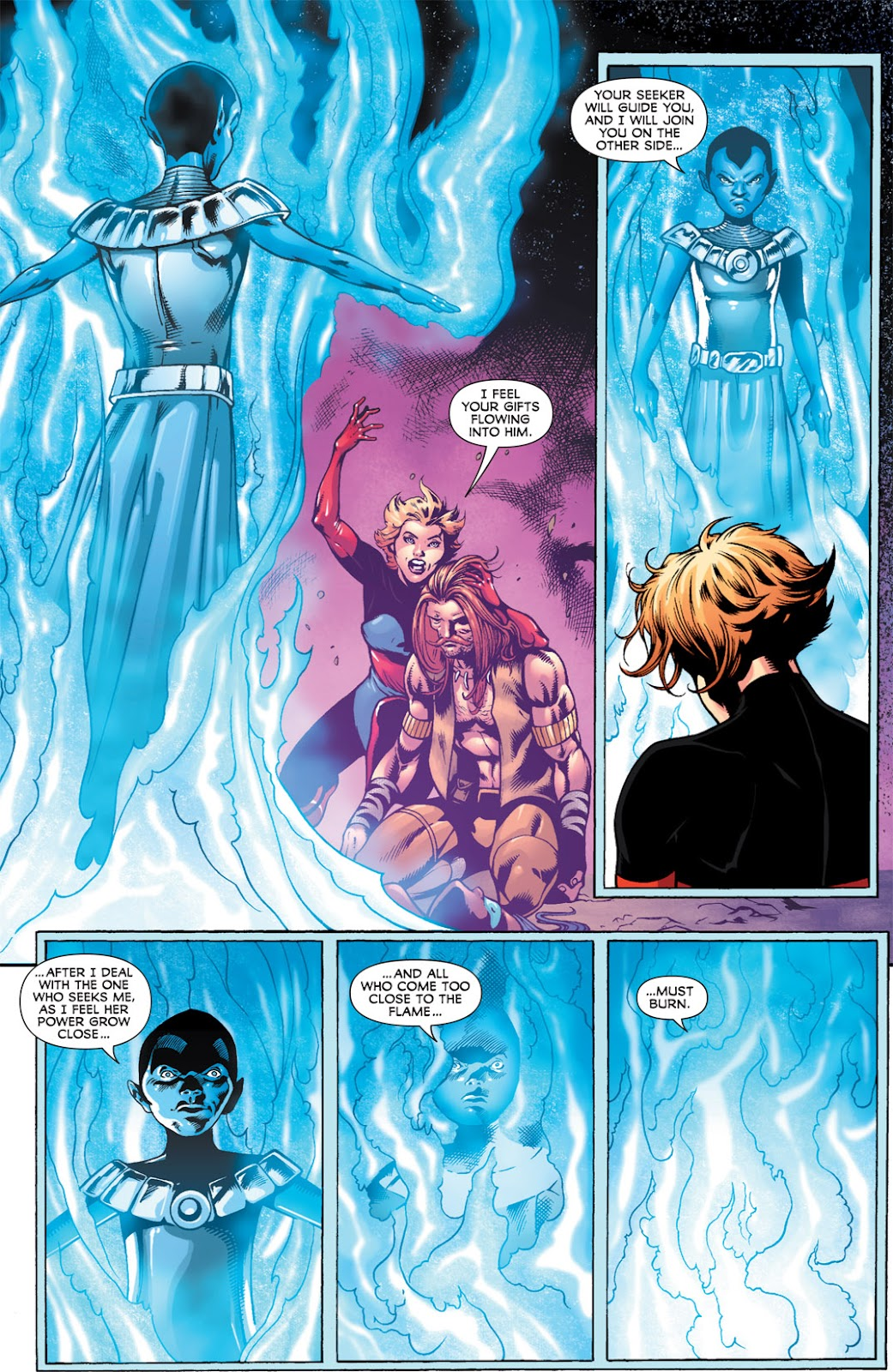 Legion of Super-Heroes (2010) Issue #14 #15 - English 12