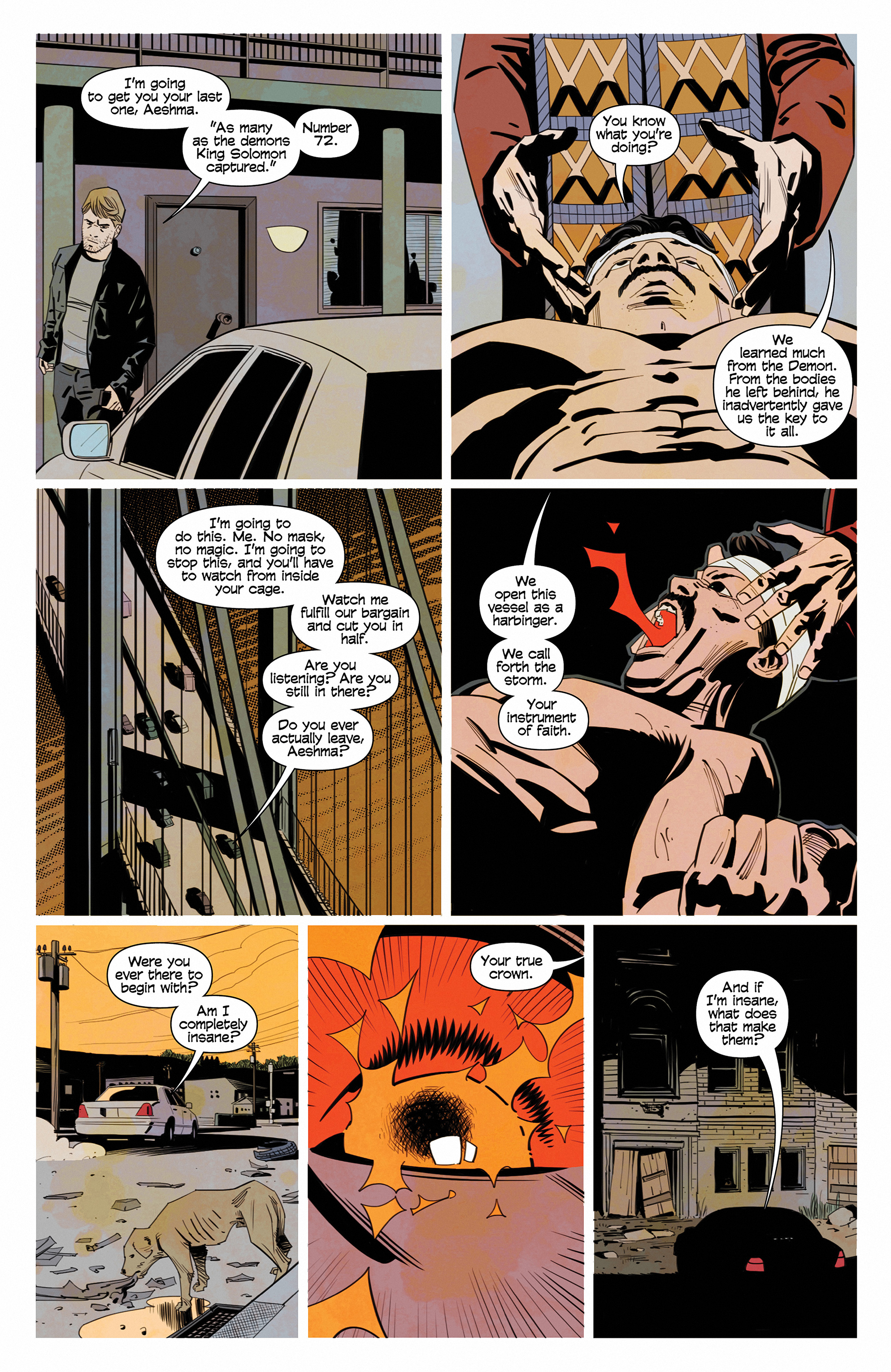 Read online Demonic comic -  Issue #6 - 12