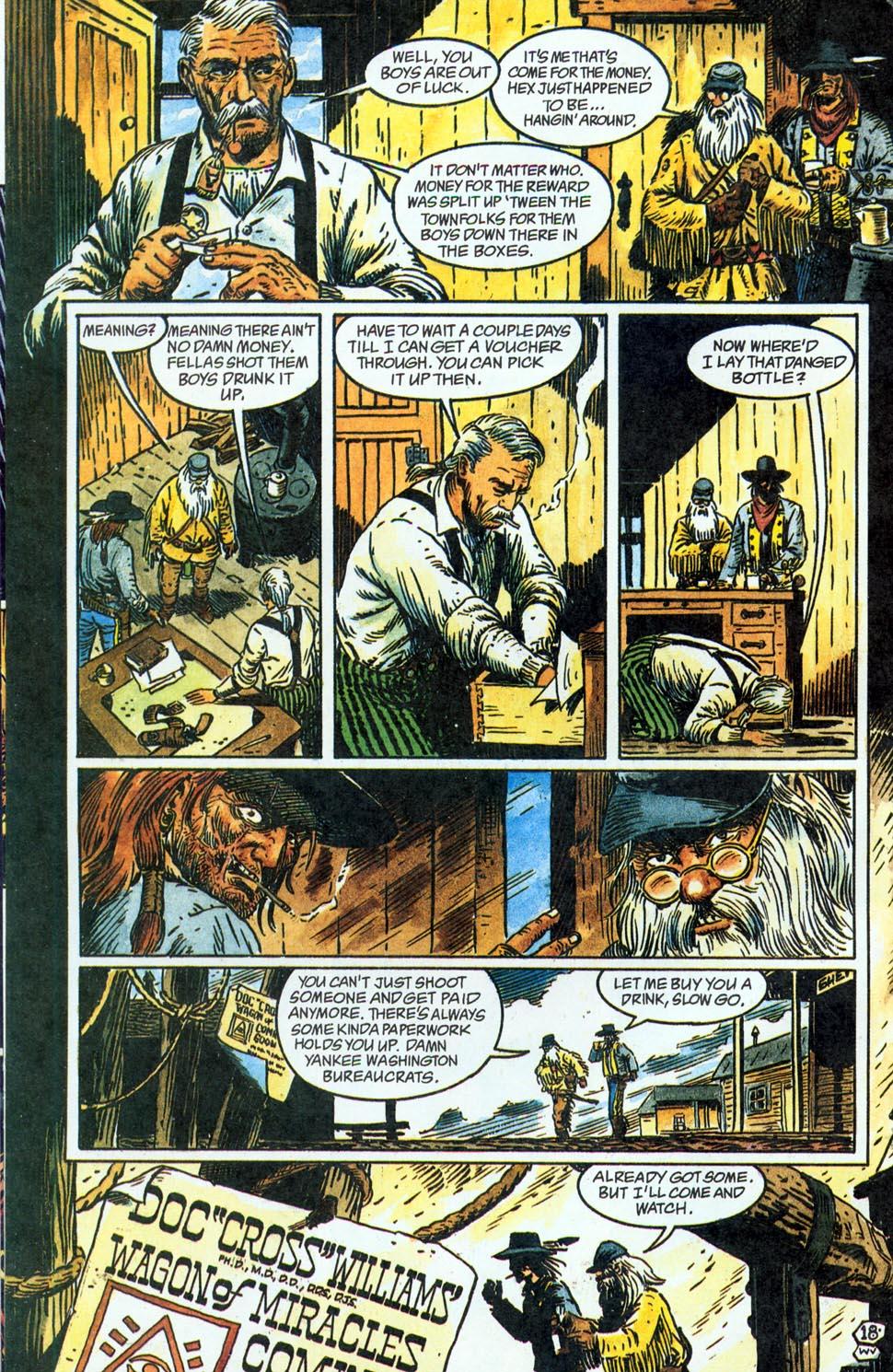 Jonah Hex: Two-Gun Mojo Issue #1 #1 - English 20