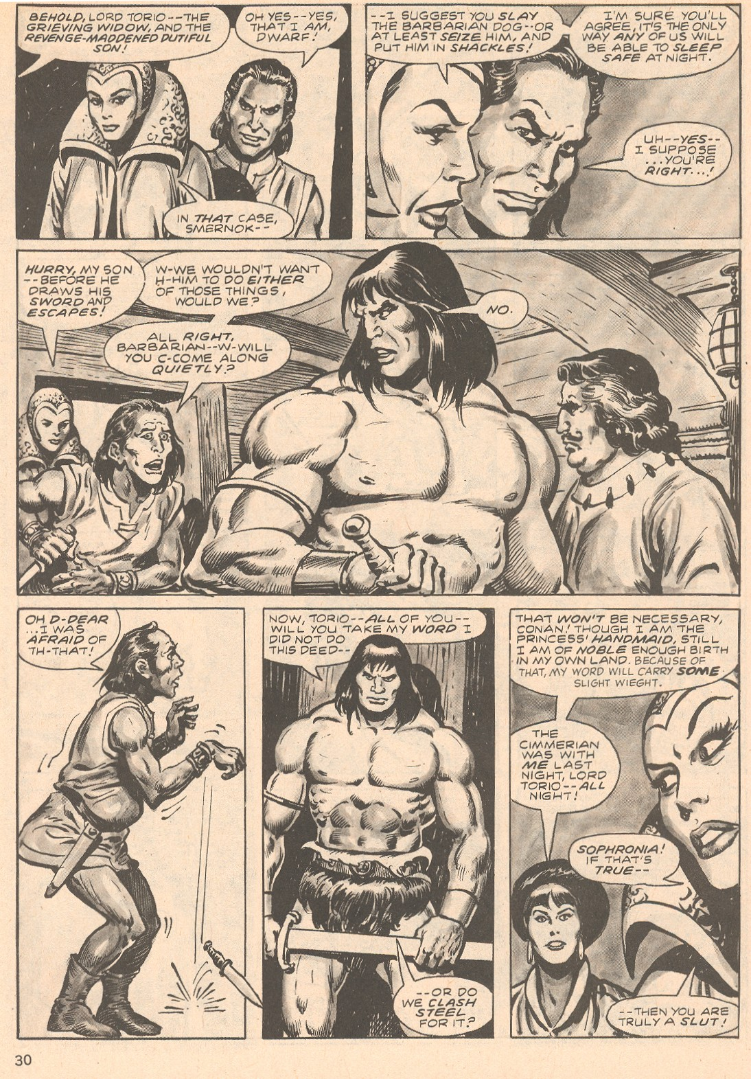 The Savage Sword Of Conan Issue #66 #67 - English 30