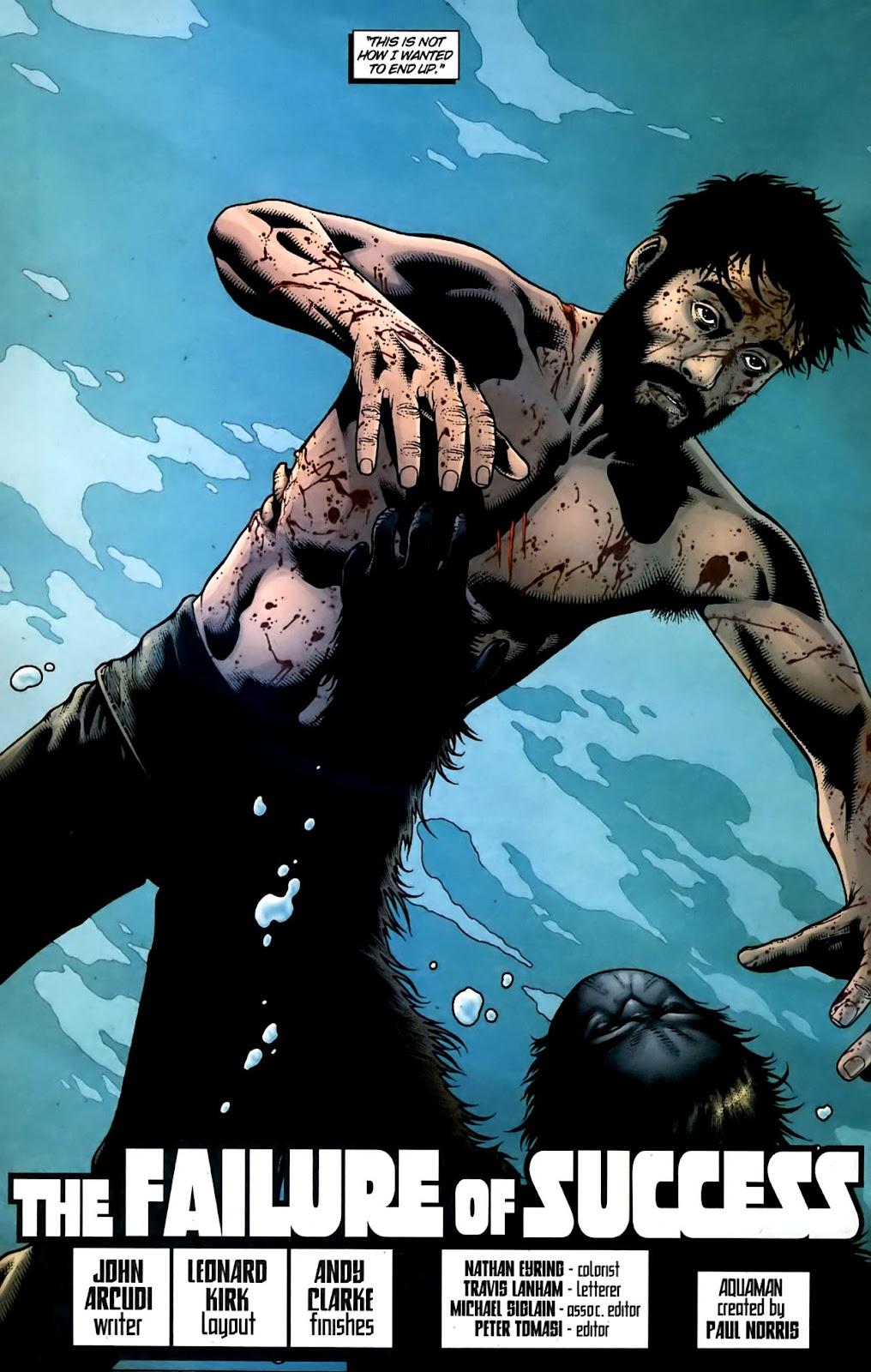 Aquaman (2003) Issue #36 #36 - English 3