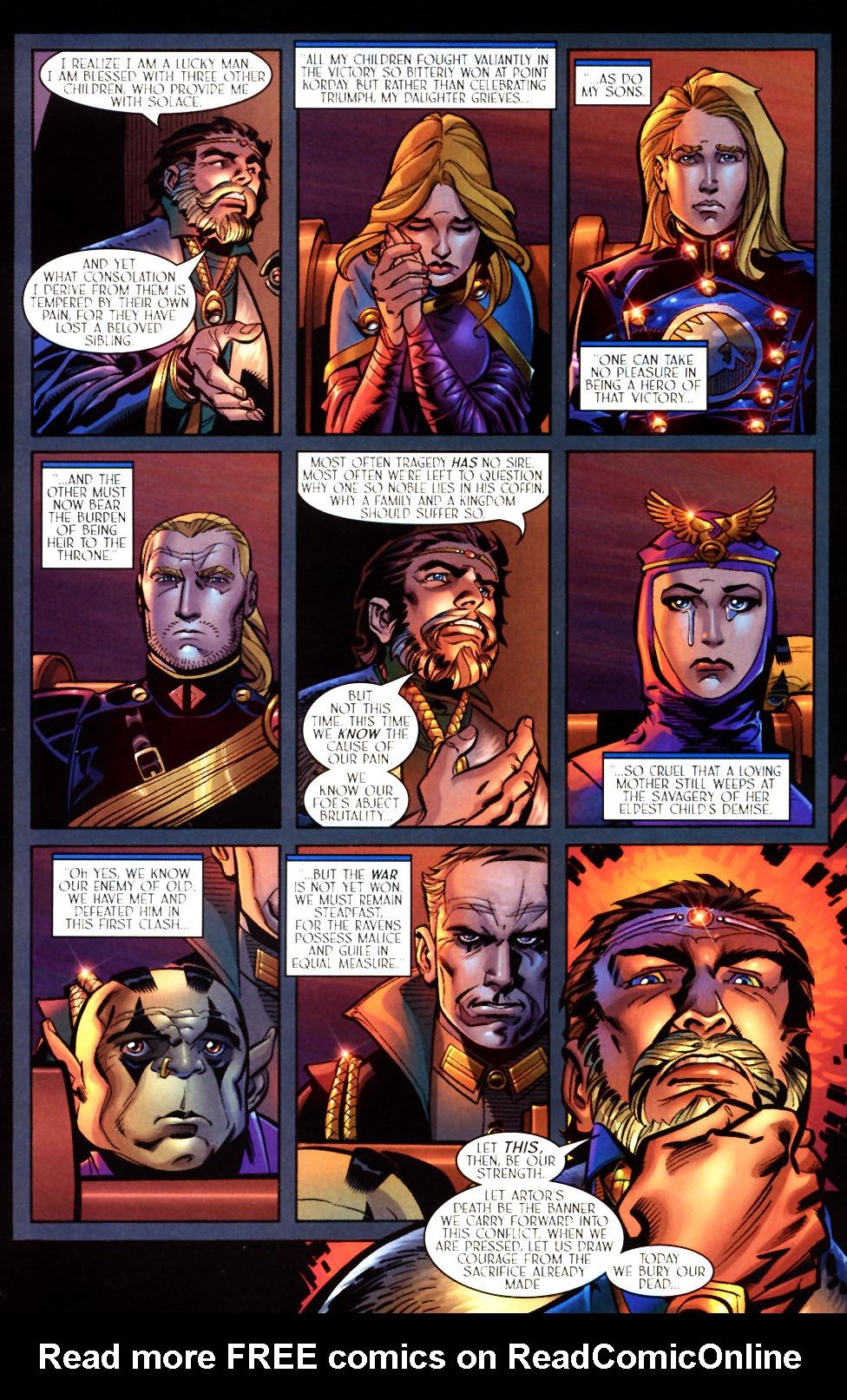 Read online Scion comic -  Issue #7 - 10