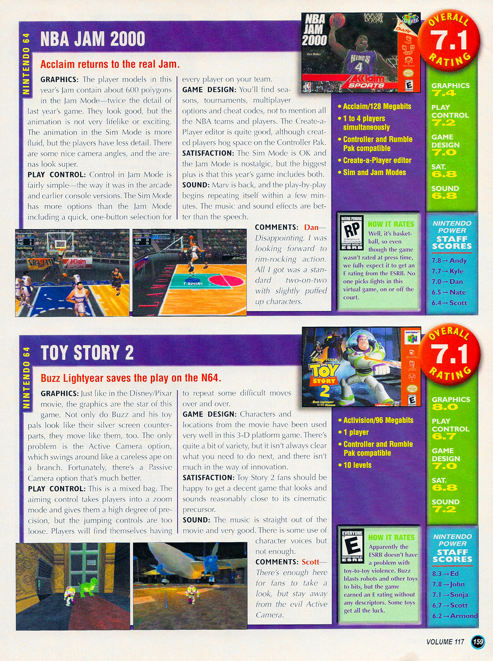 Nintendo Power #127 #127 - English 184