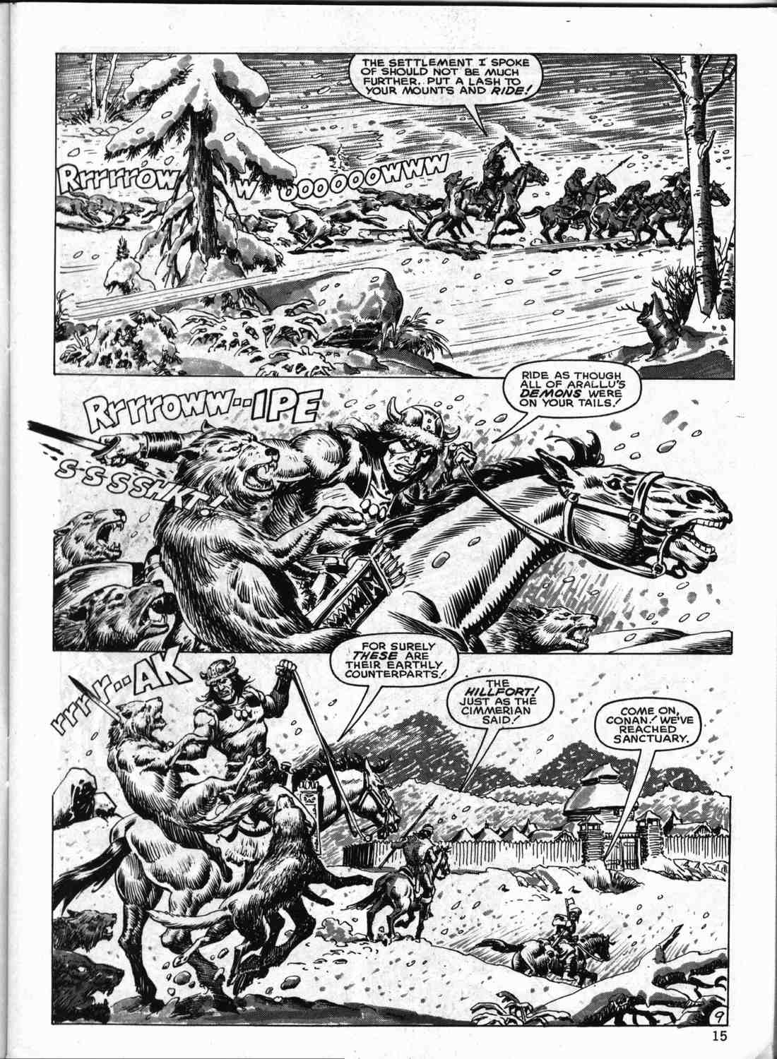 The Savage Sword Of Conan Issue #133 #134 - English 14