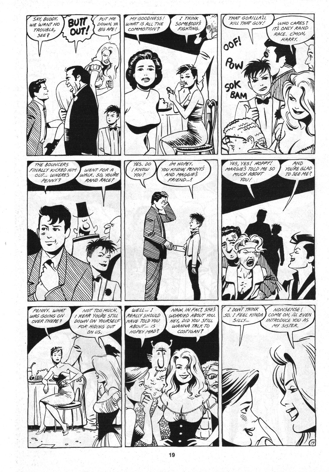Love and Rockets (1982) Issue #4 #3 - English 21