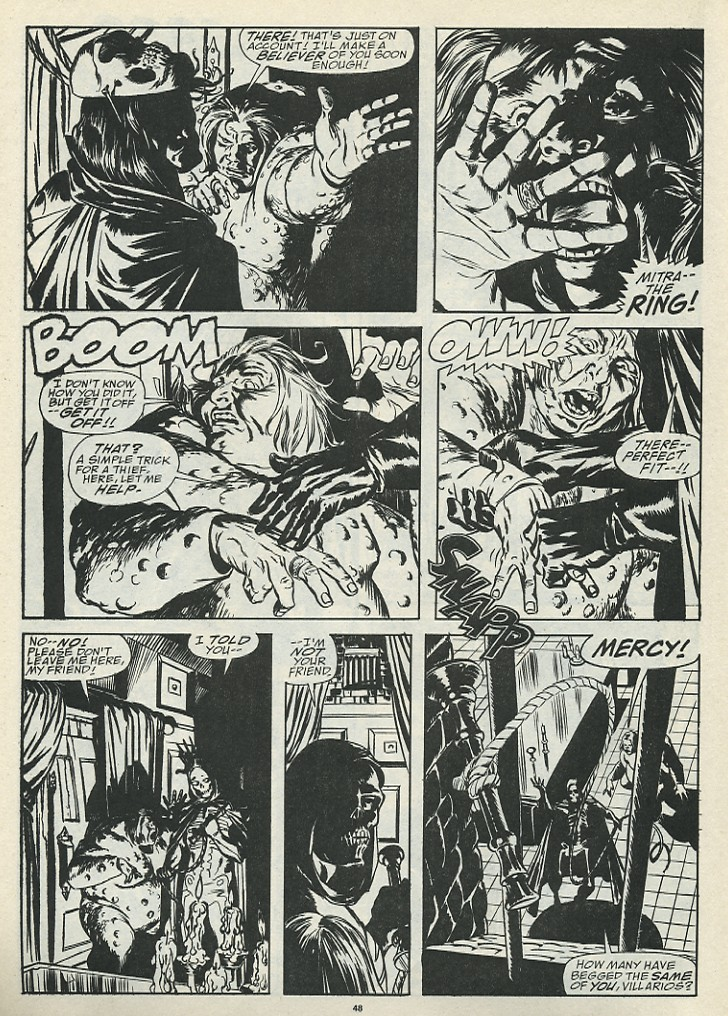 The Savage Sword Of Conan Issue #185 #186 - English 50