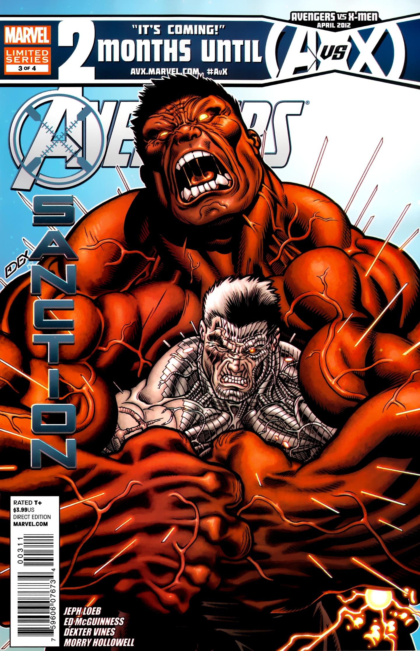Avengers: X-Sanction 3 Page 1