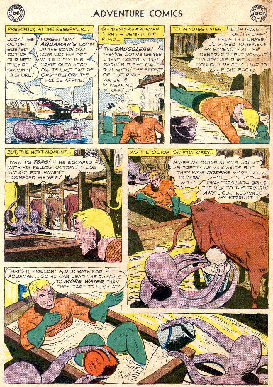 Read online Adventure Comics (1938) comic -  Issue #256 - 22