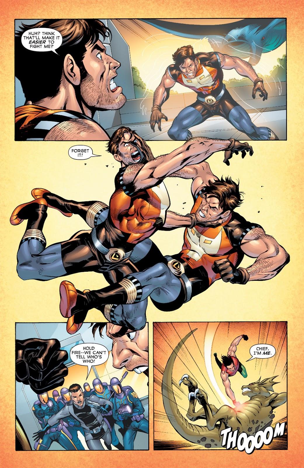 Legion of Super-Heroes (2010) Issue #7 #8 - English 15